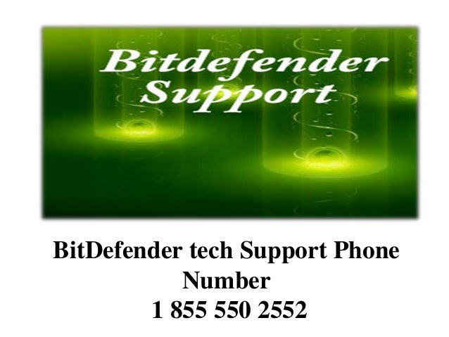 BitDefender tech Support Phone Number 1 855 550 2552