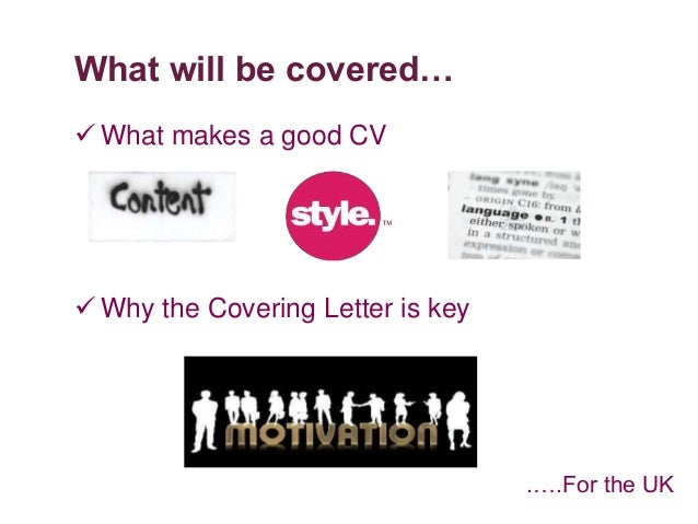successful covering letter