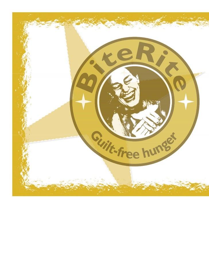 BiteRite Franchising Pvt. Ltd     A Stepping Stone for an          Entrepreneur