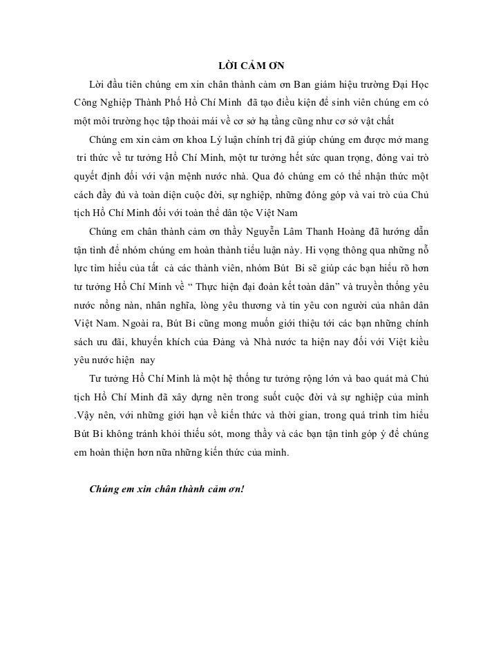 LỜI CẢM ƠN   Lời đầu tiên chúng em xin chân thành cảm ơn Ban giám hiệu trường Đại HọcCông Nghiệp Thành Phố Hồ Chí Minh đã ...