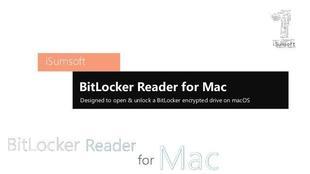 Bitlocker for mac os