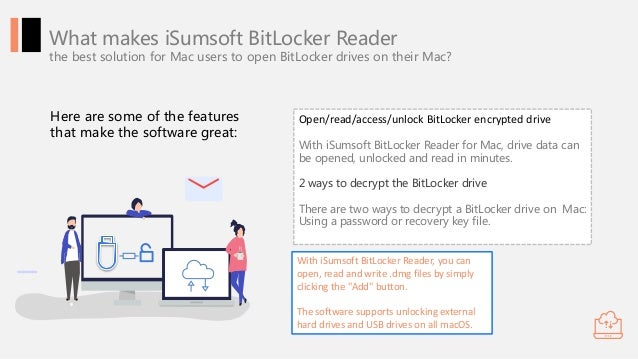 BitLocker Reader for Mac Allows Uses to Unlock and Open
