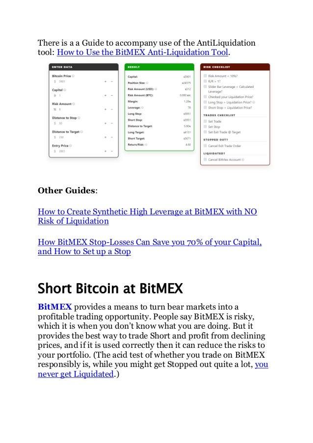 Bitmex leveraged trading hackernoon