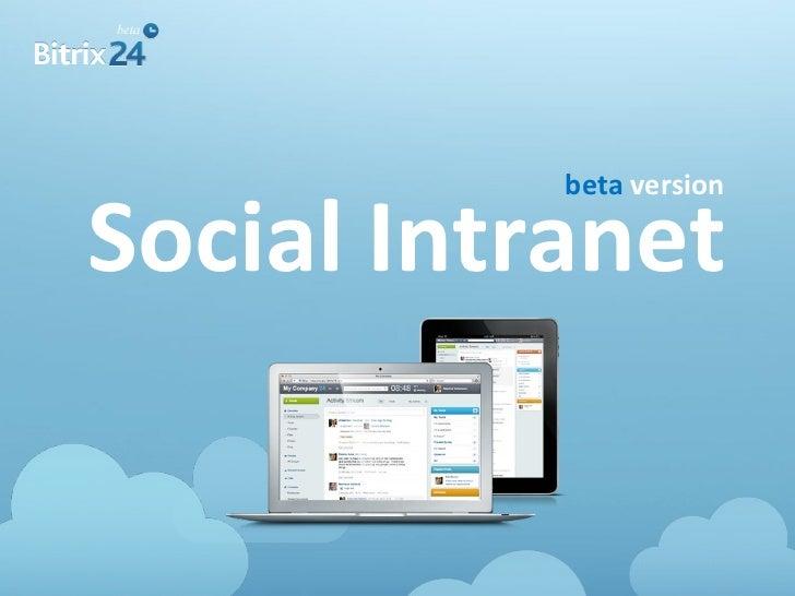 beta versionSocial Intranet