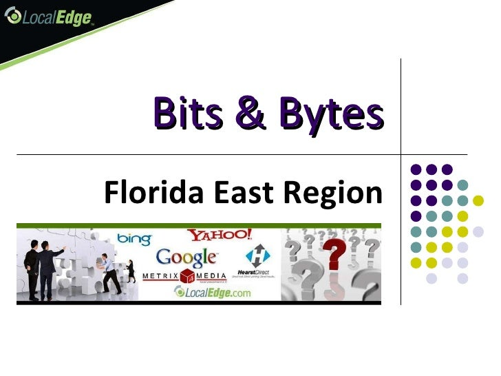Bits & Bytes Florida East Region