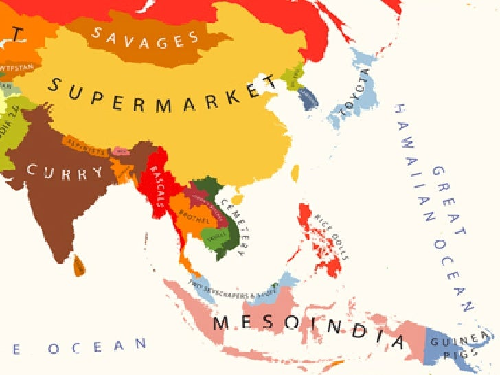 The World as Civiliza,ons Western!       Chinese!      Arabic!     Indian!Slavic!        Japanese!     African!   ...