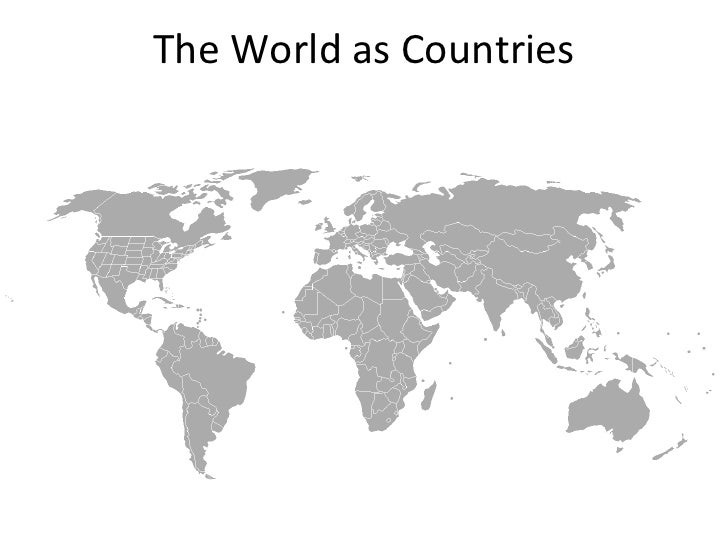 The World as Countries