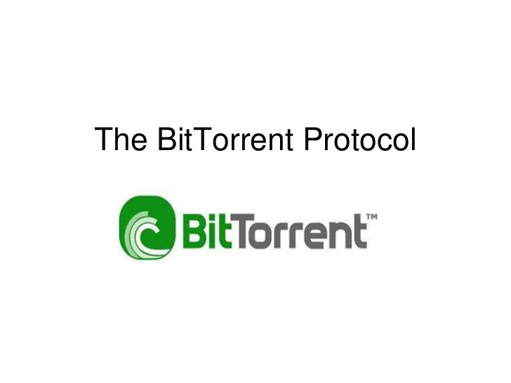 The BitTorrent Protocol<br />