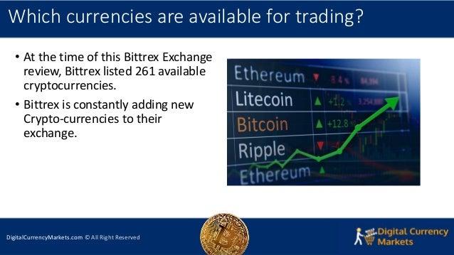 Bittrex Exchange Review 2018 - Security, Platform & Trading