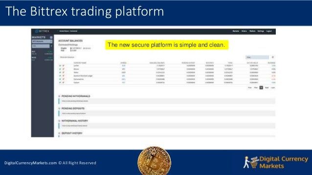 Bittrex Exchange Review 2018 - Security, Platform & Trading