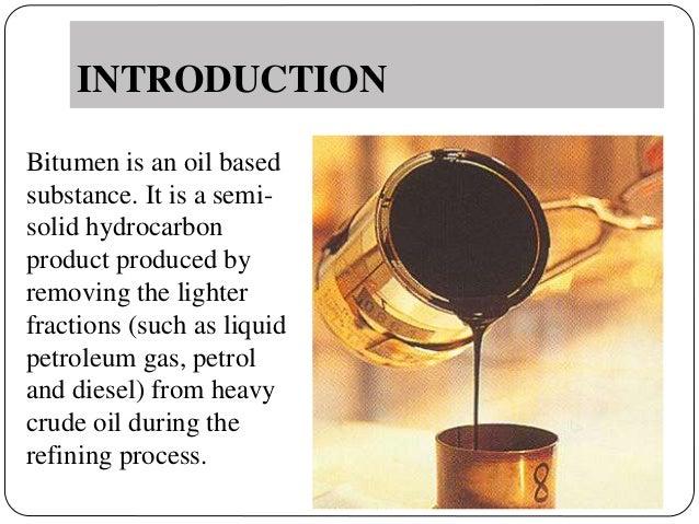 Bitumen Slide 2