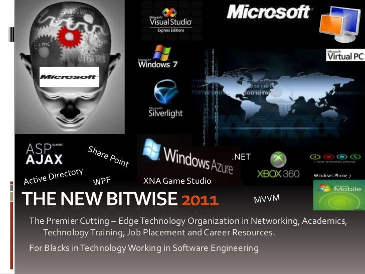 the new BiTWiSE 2011<br />.NET<br />Share Point <br />Active Directory<br />Windows Phone 7<br />WPF<br />XNA Game Studio<...