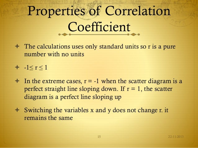 regression and correlation analysis essay Chapter 13 correlation and regression analysis outline 41 definition of correlation analysis 42 scatter diagram and types of relationships 43 correlation coefficient 44 interpretation of correlation coefficient.