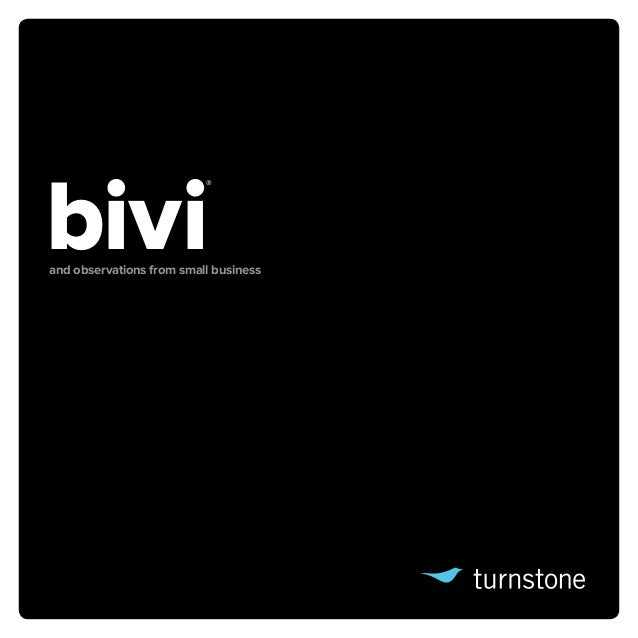 bivi                          ®and observations from small business
