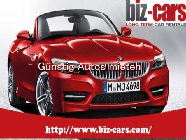 Planen Sie sorglos Ihren Urlaub! Biz-Cars, Ihr langzeit  Autovermietung- Spezialist kümmert sich um alle Details und  Sie ...