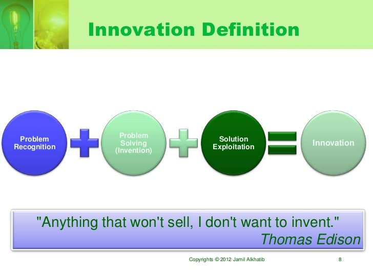 From idea to innovation roadmap for Innovative product ideas not yet invented