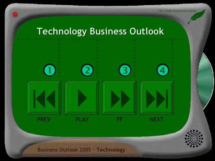Technology Business Outlook         PREV PLAY FF NEXT