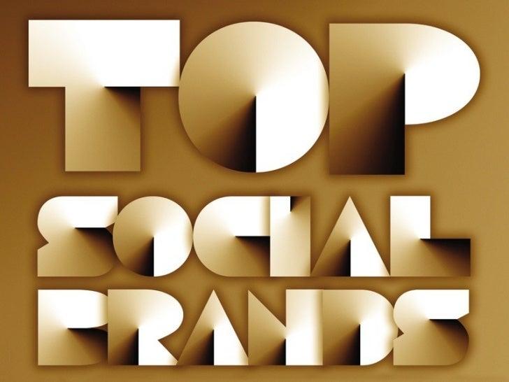 - Brandurile constientizeaza ca prezenta in social mediadevine esentiala pentru succesul lor- Topul a evidentiat dublarea ...