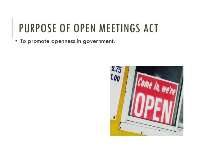 texas open meetings law General inquiry - school board faq  additionally, questions relating to the texas open meetings act and the text of the  under the nepotism law a person is .