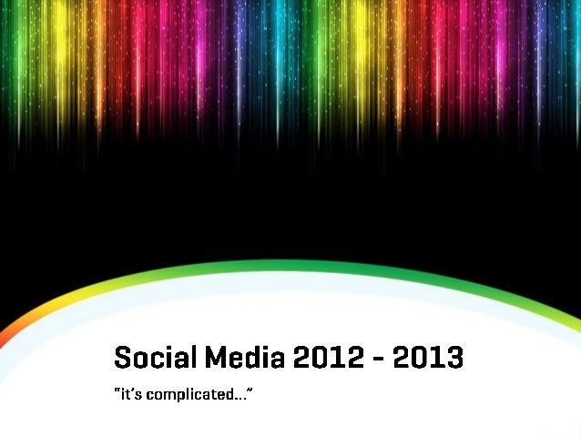 Ce am făcut în 2012