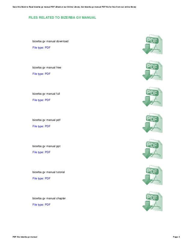 bizerba gv manual rh slideshare net