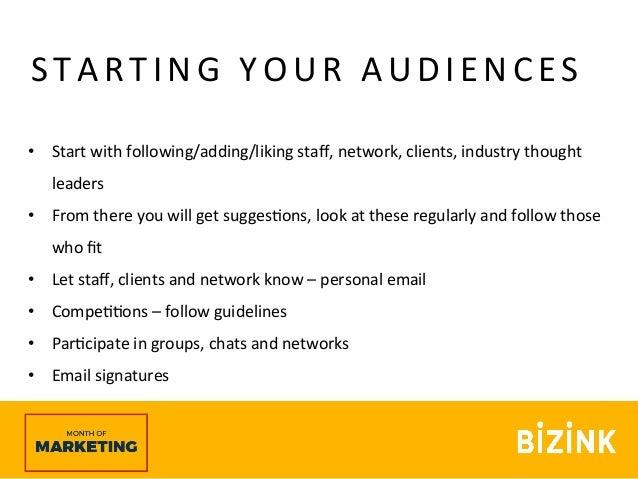 Facebook basics - Month of Marketing webinar