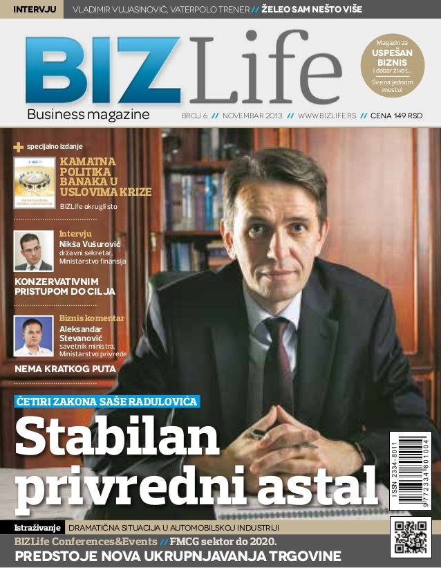 intervju  Vladimir Vujasinović, vaterpolo trener // Želeo sam nešto više  Magazin za  uspešan biznis i dobar život...  Sve...