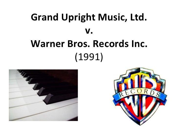 Grand Upright Music, Ltd. v. Warner Bros. Records Inc. (1991)