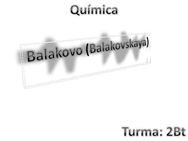 Neste breve trabalho estaremos abordando um tema muito interessante, a Usina Nuclear de Balakovo ou Balakovskaya. Abordare...