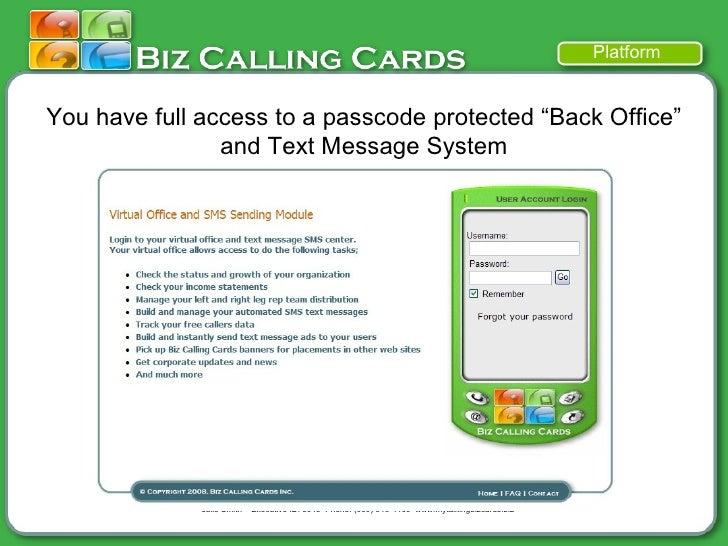 Biz mobile marketing text message advertising business cards 13 colourmoves