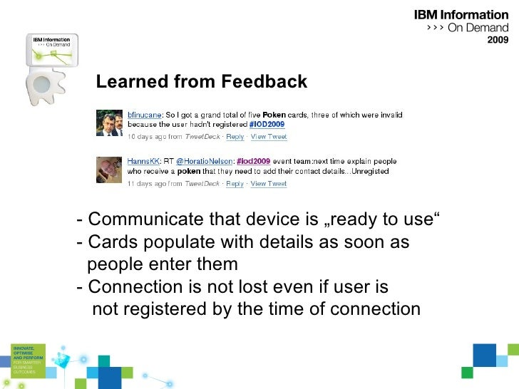 """Learned from Feedback - Communicate that device is """"ready to use"""" - Cards populate with details as soon as  people enter t..."""