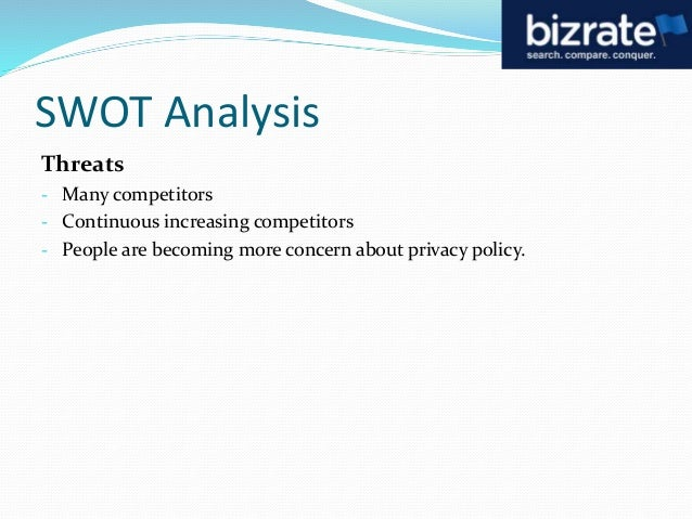 bizrate swot analysis 7 swot analysis  are widely available, and sites like bizratecom allow you to  compare products and prices side by side for the best prices and quality.