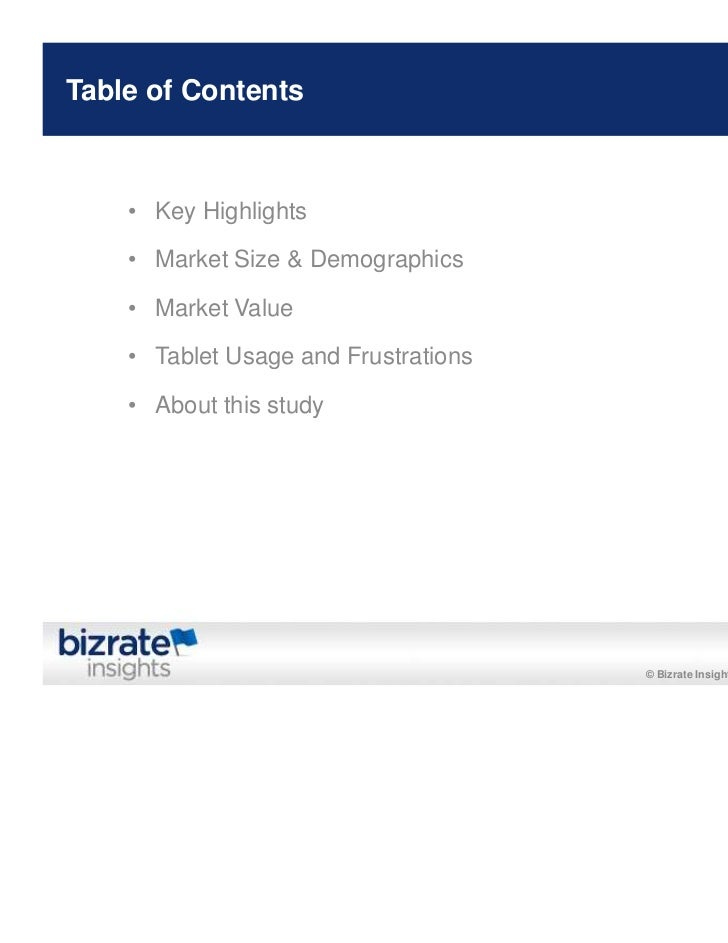 Bizrate/Forrester Study: Tablet Usage Among Online Buyers Slide 2