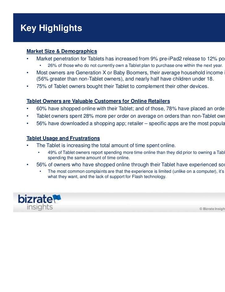 Bizrate/Forrester Study: Tablet Usage Among Online Buyers Slide 3