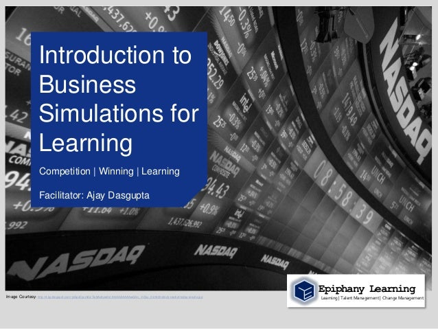Introduction to                    Business                    Simulations for                    Learning                ...