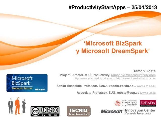 Ramon CostaProject Director. MIC Productivity. ramonc@micproductivity.comhttp://www.micproductivity.com http://www.iproduc...