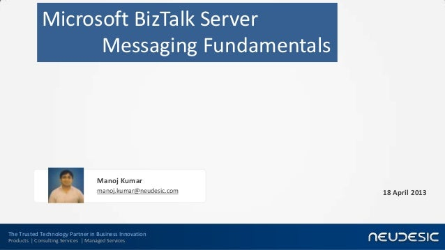 The Trusted Technology Partner in Business InnovationProducts | Consulting Services | Managed ServicesMicrosoft BizTalk Se...