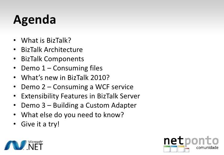 Biztalk Server 2010: Introdução Slide 3