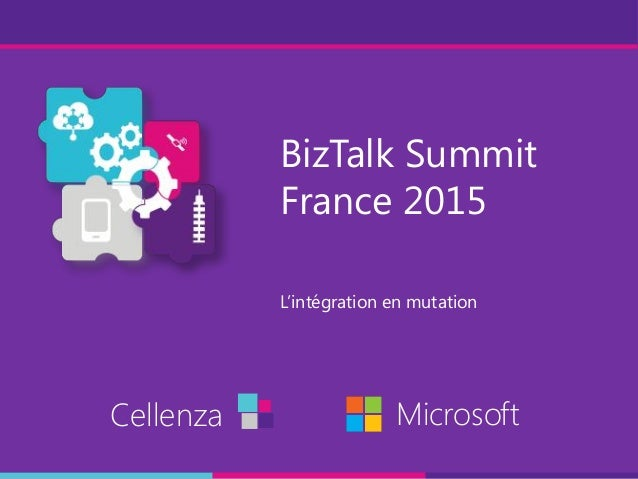 BizTalk Summit   L'intégration en mutation
