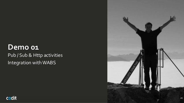 Demo 01 Pub / Sub & Http activities Integration withWABS 26