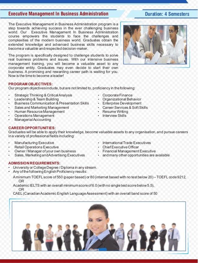Biz Tech College Canada Prospectus Faculty Of Business