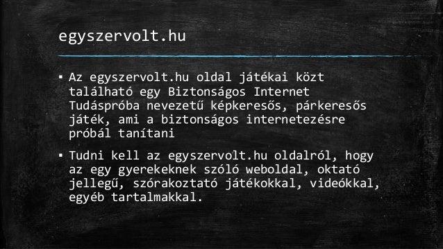 Média pedagógia - Biztonságos Internet (használat) Slide 2