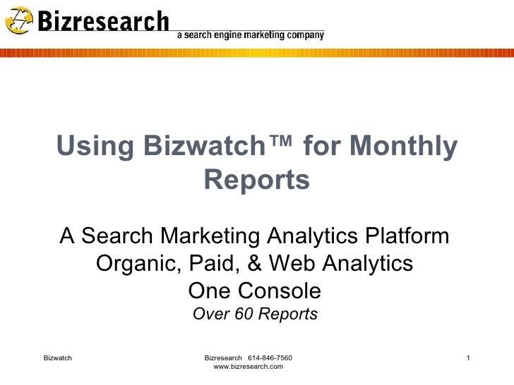 web analytics report example pdf