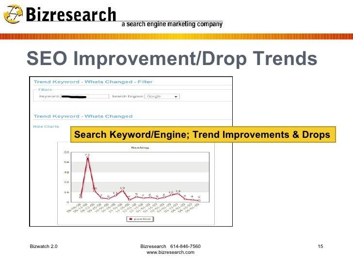 Bizwatch Search Analytics Reports 2009 - slideshare.net