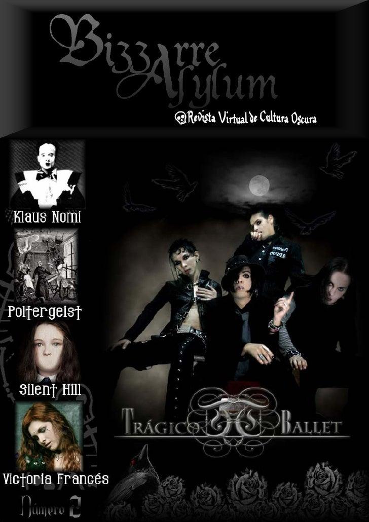 Bizzarre asylum   revista virtual de cultura oscura - 2º número