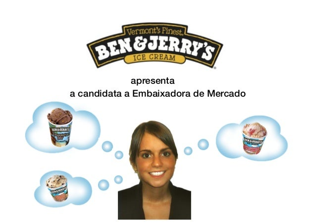 apresenta ! a candidata a Embaixadora de Mercado !