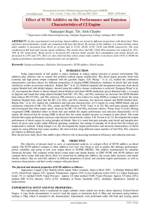 www.ijmer.com  International Journal of Modern Engineering Research (IJMER) Vol. 3, Issue. 5, Sep - Oct. 2013 pp-2831-2835...
