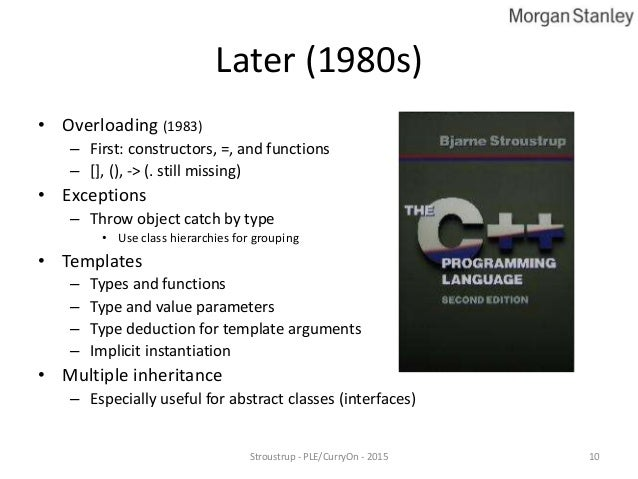 What if anything have we learned from c by bjarne for Argument list for class template is missing