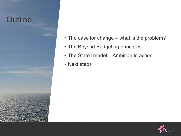 Bjarte Bogsnes about Beyond Budgeting at ALE2011 Slide 2