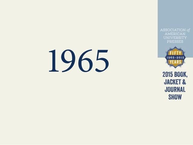AAUP Design Show: 50 Years Slide 2